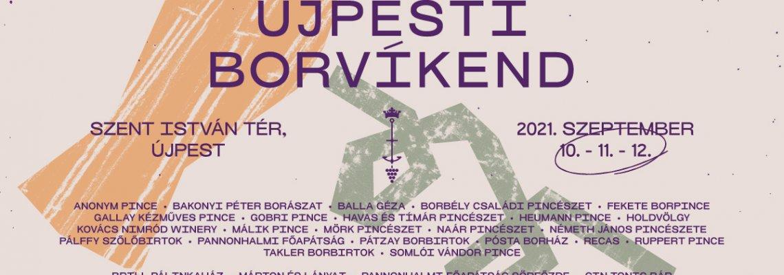 Újpesti BorVíkend 2021