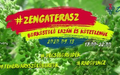 ZengaTerasz Borkóstoló - második nap