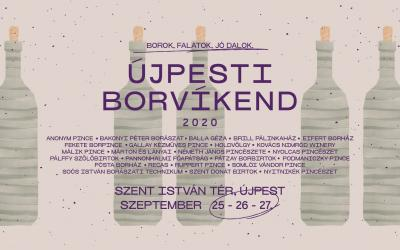 Újpesti BorVíkend 2020 kiállítók